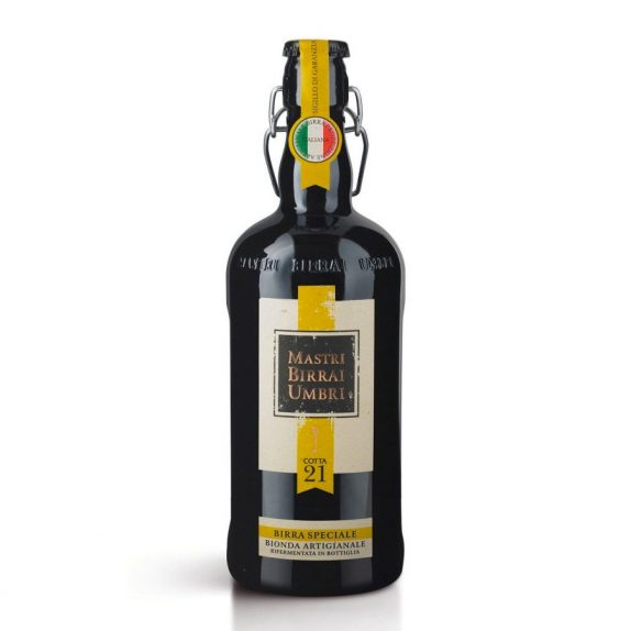 Birra Speciale Bionda Artigianale – Cotta 21<br>Mastri Birrai Umbri<br>750ml