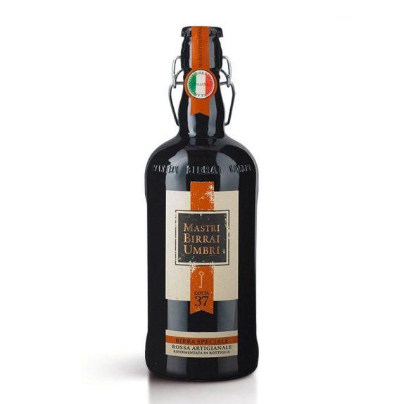 Birra Speciale Rossa Artigianale – Cotta 37<br>Mastri Birrai Umbri<br>750ml