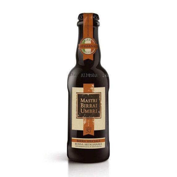Birra Speciale Rossa Artigianale – Cotta 37<br>Mastri Birrai Umbri<br>300ml