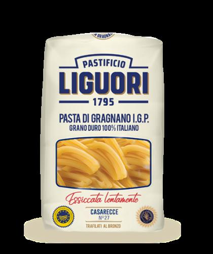 Casarecce IGP Nr 27 – Liguori – 500 gr