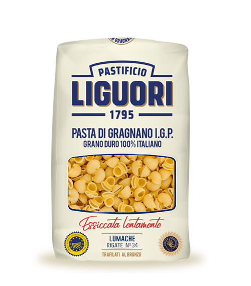 Lumache Rigate IGP Nr 34 – Liguori – 500 gr